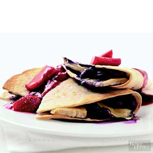 Blueberry-Brie Quesadillas