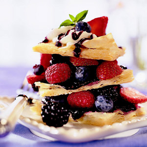 Fresh Berry Napoleons