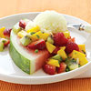 Melon with Fruit Salsa