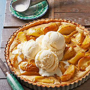 Honeycrisp Apple and Browned Butter Tart