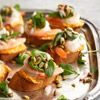Pumpkin-Shrimp Bruschetta