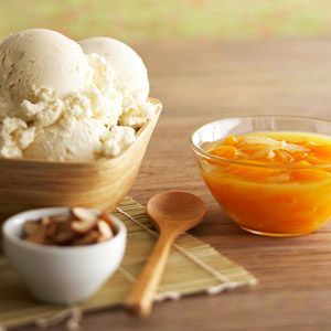 Orange-Ginger Ice Cream Sauce
