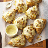 Cranberry-Pumpkin Scones with Sugared Pepitas