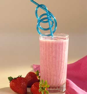 Strawberry Blender Breakfast