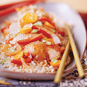 Hoisin-Sauced Turkey Tenderloin