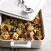 Wild Mushroom-Herb Bread Pudding