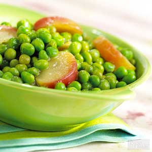 Cider Peas and Apples