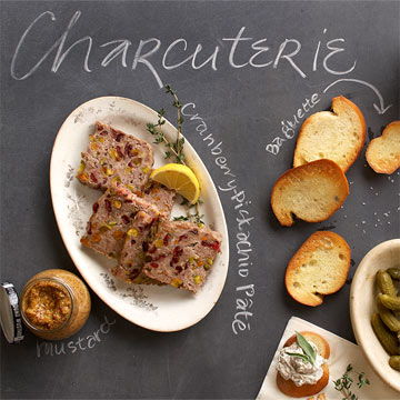 Simple Appetizer: Carcuterie Plate