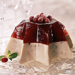 Layered Cranberry-Apple Mold