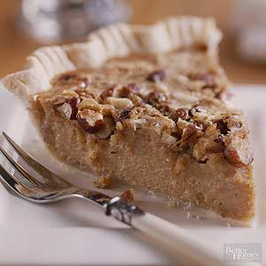 Sweet Potato and Hazelnut Pie