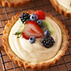 Fresh Fruit & Cream Tarts