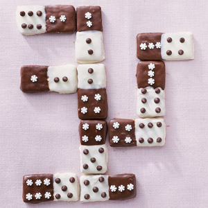 Double-Dipped Dominoes