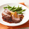 Roasted Pork with Blackberry Sauce