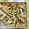 Garlicky Asparagus Flatbread