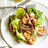 Pan-Seared Shrimp Salad with Mango-Lime Dressing