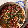 Sausage and White Bean Stew with Kale