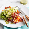 Iceberg Wedge Salad with Bacon, Carrots, and Radishes