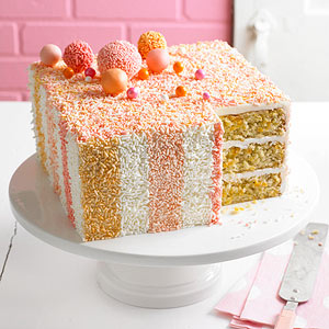 Sprinkle-Me-Happy Cake
