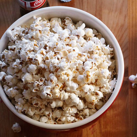 Homemade Kettle-Style Popcorn