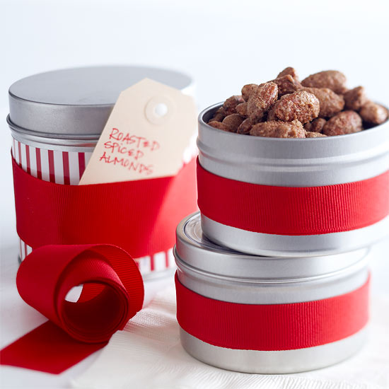 Food Gift: Roasted Spiced Almonds