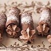 Homemade Chocolate Cannoli