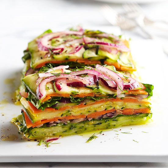 Image Gallery Stacked Salad