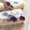 Blueberry-Swirl Cheesecake Bars