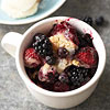 Triple-Berry Cobbler