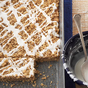 Apple-Cinnamon Streusel Bars