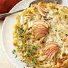 Apple & Cheddar Penne Pie