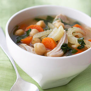 Chicken & Garbanzo Bean Soup