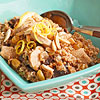 Dried Fruit, Chicken & Bulgur Pilaf