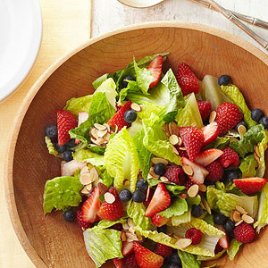 Triple Berry Salad