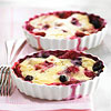 Berry Pudding Cakes
