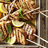 Lemon-Sage Pork Chops on a Stick