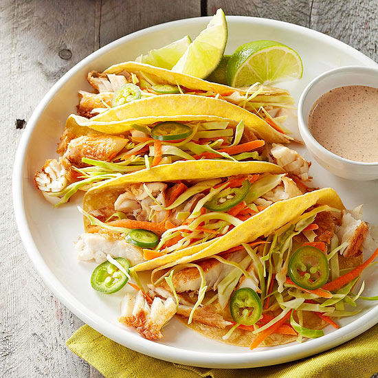 Fish tacos with lime sauce for Fish taco recipe sauce