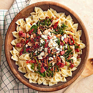 Arugula and Dried Tomato Pasta