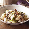 Gnocchi with Mushroom Sauce