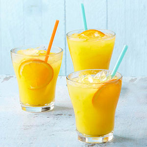 Orange-Mango Agua Fresca