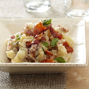 Oregano Butter & Bacon Potatoes
