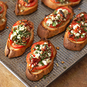 Two Tomato Bruschetta