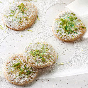 Lime and Ginger Chewies
