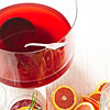 Orange-Ginger Pomegranate Punch