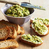 Edamame & Ricotta Toasts