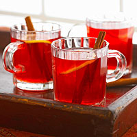 Light Cranberry Hot Toddy
