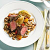 Steak with Fennel and Beans