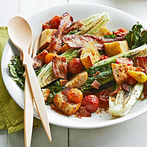 Roasted BLT Salad