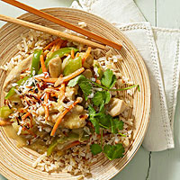 Healthy Chicken Stir-Fry Dinners