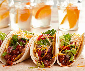 Mega Beef Tacos with Soft and Crunchy Shells