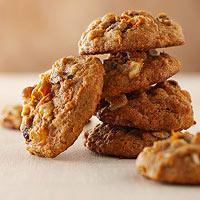 Carrot-Raisin Cookies
